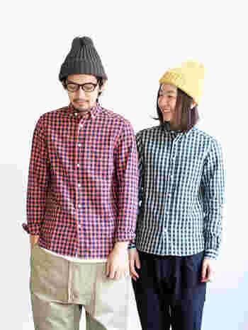 シンプルでユニセックスなデザインや、サイズ展開も豊富なのでカップルで着ることができる商品もたくさんあります。
