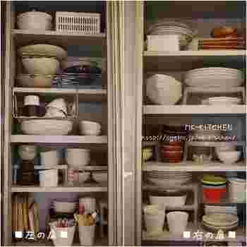 お料理好きや食器好きさんの場合、ついつい集めてしまって、気づけば食器棚が満員状態になってしまいがちですね。年末年始の来客シーズンに備えて、今一度食器棚を確認してみましよう。