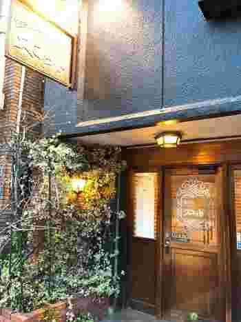 熱海の名店「スコット」。文豪の志賀直哉をはじめ、多くの著名人が通ったレストランとしても知られています。