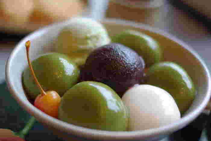 モチモチの食感が楽しい♪白玉の作り方とアレンジレシピ