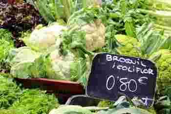 ブロッコリーは、花を食べるキャベツの一種で、イタリアで品種改良されたといわれる緑黄色野菜。カリフラワーは、そのブロッコリーの変種とされる淡色野菜。ロマネスコも合わせ、3つの野菜のルーツは同じようです。