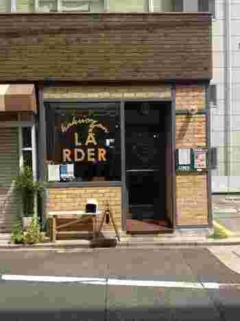 千種区覚王山通にあるお洒落なカフェです。
