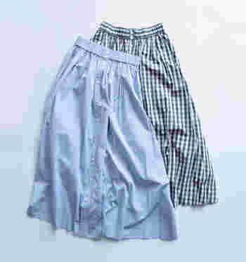 スカートはガーリーなイメージがあって、ちょっと苦手。そんな人でも履きこなしやすいのが、英仏ブランドのスカート。フェミニンな雰囲気は控えめで、シンプルで大人っぽいデザインが多いのが魅力です。