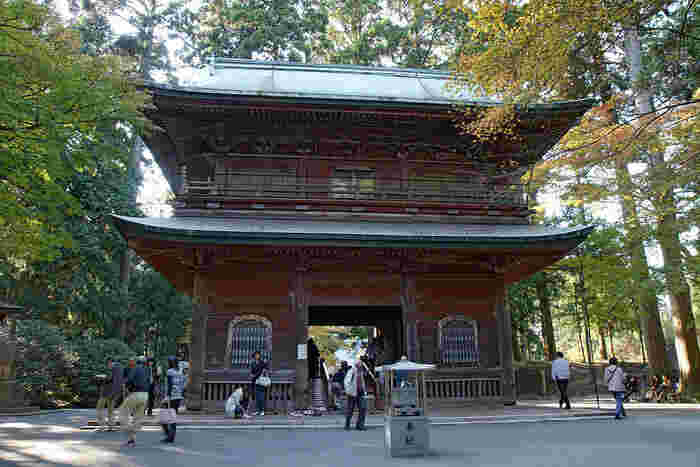 比叡山延暦寺の山門にあたる文殊楼は、知恵を与えてくれる文殊菩薩をご本尊としているお堂です。
