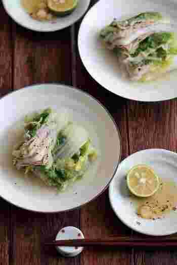 白菜を使った料理として人気が高い定番メニュー♪簡単にできてとっても美味しいのが嬉しいですね。