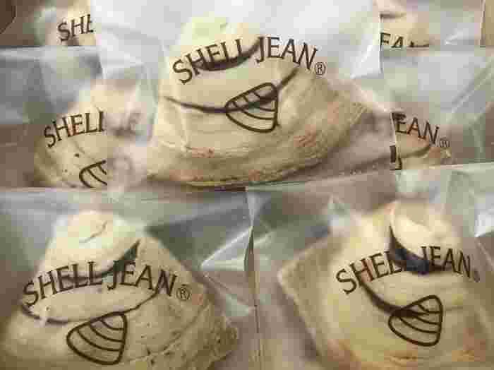 イルドショコラの名物は、湘南のシェル(貝)の形をしたパイ菓子の「シェルジャン」です。