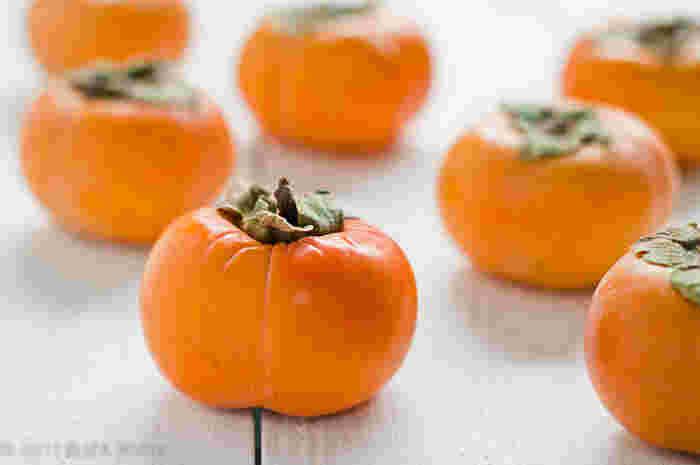 濃厚な旬の甘みを堪能♪実りの秋のくだもの「柿」を使ったデザート&スイーツレシピ