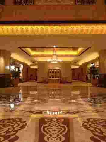 まさに中東に来た!と思わせてくれるホテルの中の一つではないでしょうか?