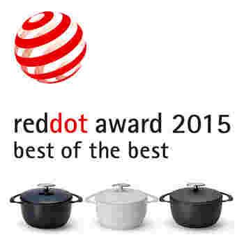 使いやすさは勿論、ユニロイの琺瑯鍋はシンプルでとってもお洒落! 2015年には、世界でも権威あるデザイン賞として知られる「レッド・ドット・デザイン賞」のプロダクトデザイン部門で、最高賞の「ベスト・オブ・ザ・ベスト」を受賞。2014年には、お馴染みのグッドデザイン賞 を受賞しています。カラーは、ネイビー、ホワイト、マットブラック、サクラの4色がラインナップ。