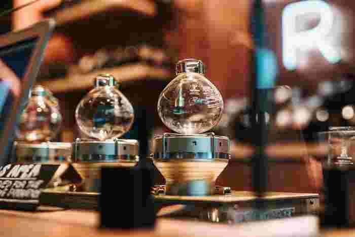 「サイフォン」でおうちコーヒーを特別に*基本とおすすめ器具のこと