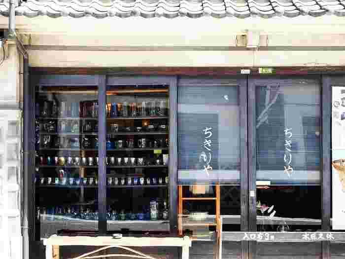オープンは第2次大戦直後の1947(昭和22)年。創始者は、松本民芸館(後出)の初代館長・故・丸山太郎氏。