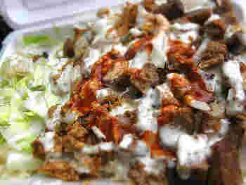 完成!野菜もタンパク質も取れる、お手軽ワンプレートランチ。