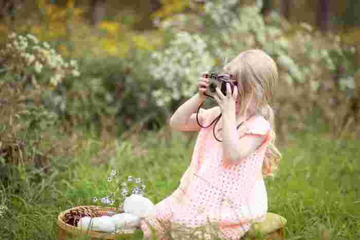 スマホでばかり写真を撮っていませんか?大切な思い出はカメラで丁寧に撮ってみましょう。