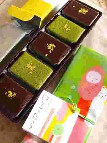 パッケージには、金沢をイメージしただるまののほんわか和むイラストが。お土産にも喜ばれそう。