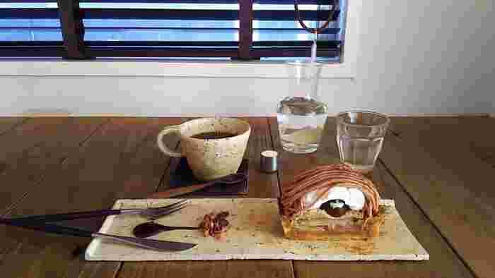 torseオリジナルブレンドのコーヒーは定評ある逸品です。スイーツとの相性も抜群♪