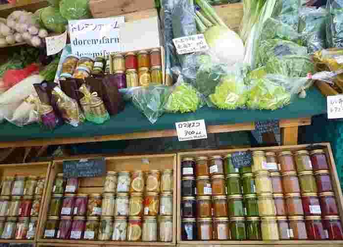 「ごぼうのピクルス」が話題となった千葉県我孫子市の「ドレムファーム」の出店の様子。