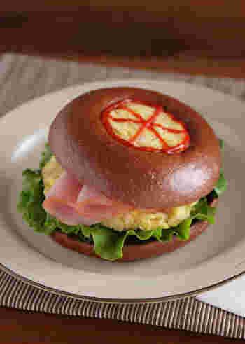 さつまいもマッシュは、サンドイッチの具にも活用できます♪お腹に満足のさつまいもは、ボリューミーなサンドイッチにしたい時にもおすすめ。