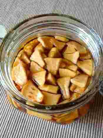 こちらもヨーグルトメーカーを使ったレシピ。お好みのフルーツで試してみてくださいね。