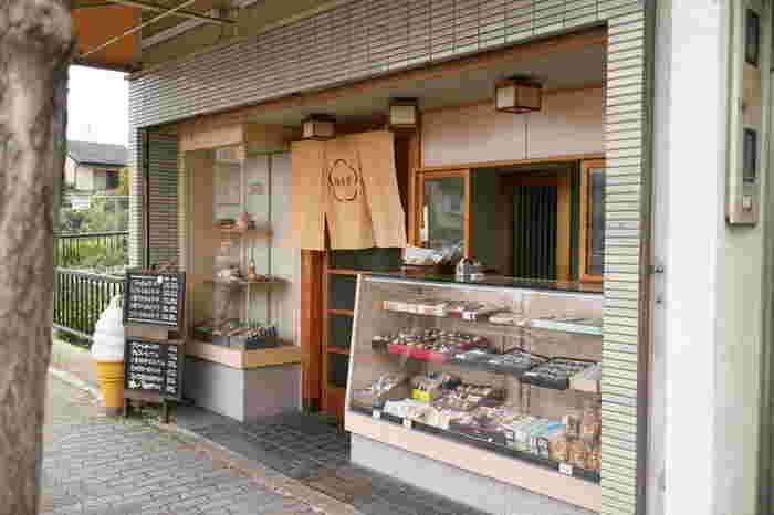 梅香堂は、地元の人から愛される、知る人ぞ知る甘味処です。京阪「東福寺駅」から徒歩12分。