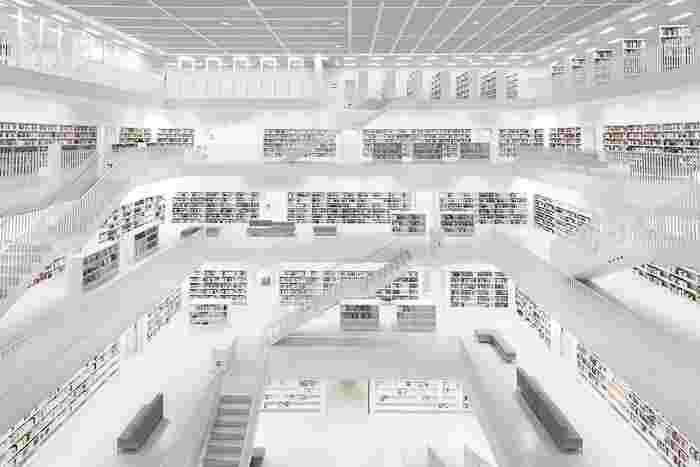@Bernhard Hartmann Library Stuttgart