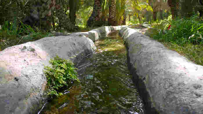 町の中心には世界最古の灌漑システムの「ファラジ」も見ることができます。有史以前よりこの地に人々が住んでいたことを感じることができる都市です。
