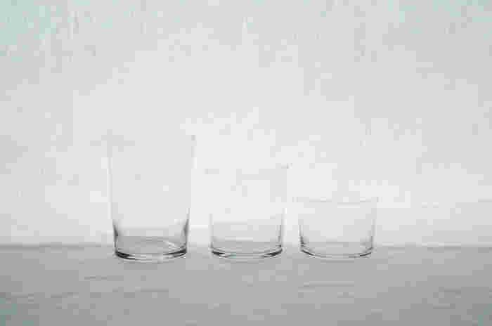 ヨーロッパの誇るガラスブランド「ボデガ」。このボデガのグラスは強化ガラスなので熱湯もレンジも可能なんです。