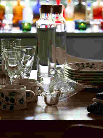 イッタラバードに誘われて、食卓につくと、そこは、まるで北欧の朝。  うん、きっと今日も幸せだ♪