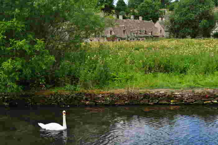 羊毛交易で栄えてきたコッツウォルズの歴史は古く、コッツウォルズに点在する町や村は、中世の面影を色濃く残しています。コッツウォルズの町や村はどこを切り取っても絵本の挿絵のような風景をしています。
