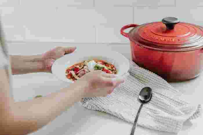 忙しい朝でも充実した朝食を♪【時短の朝スープ&お手軽ストック】レシピ