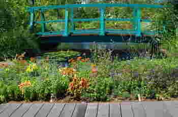 西武池袋本店にある「食と緑の空中庭園」は、観賞魚を扱うフィッシュゾーン・観葉植物や多肉植物など植物が多数揃うガーデニングショップのゾーン・食事を楽しめるフードカートエリア・睡蓮の庭の4つのゾーンがあります。