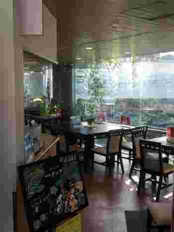 館内には、カレーやナシゴレン、ガパオライスなど、東南アジアの料理をいただくことができる「喫茶室クレア」も併設されています。温室内の様子を眺めながら、エスニック料理に舌鼓♪都内にいながら、ちょっとした旅行気分が味わえそうです。なお、食事が利用できるのは土日祝のみ。平日は休憩所として利用することができます。