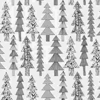 マリメッコのクーシコッサの生地を好みのサイズにカットして、ファブリックボードを作るのもおすすめです。表情豊かなツリーが描かれており、見ているだけで楽しくなりますね。