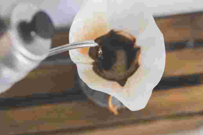 コーヒーは淹れ方が大事なポイントですよね。味を大きく左右する淹れ方については、コツをしっかりと覚えましょう。