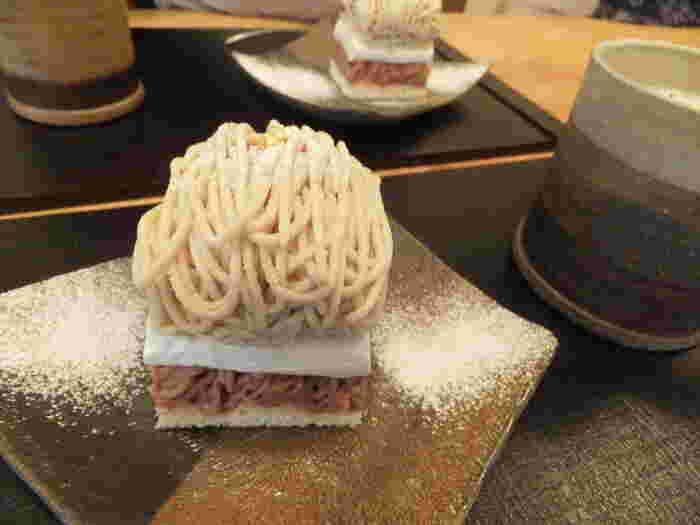 """秋のスイーツと言えば""""モンブラン"""" この時期になると、幾つものお店を梯子する人もいるほど人気のケーキです♪"""