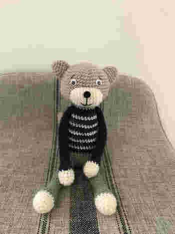 球体などの立体も編めるので、いろんな形が作れます。 かぎ針編みをマスターすれば編みぐるみもできちゃいます。