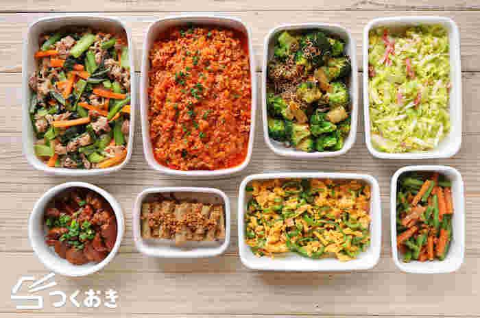 新生活が始まる4月。 「今年からお弁当生活を始めよう」と考えている方も多いのではないでしょうか。 お弁当生活を毎日楽しく続けるためには、「見栄えが良くて、作り置きできるおかず」を何品かマスターすることが大事なポイントになります。 今回はそんな条件を満たしてくれる簡単&美味しいおかずたちを、日持ちする日数ごとに色別でご紹介します♪