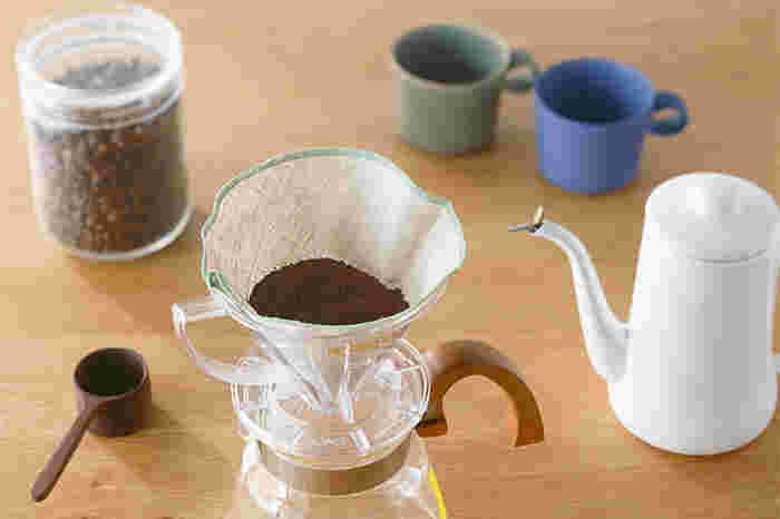 """最初の一滴が一番美味しい。ドリップコーヒーの""""蒸らし""""がこんなに大切"""