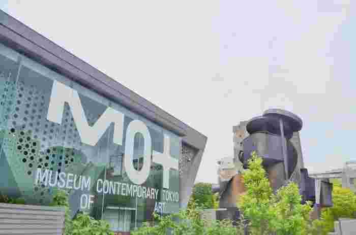 東京都現代美術館も、清澄白河を語るうえで欠かせないスポット。様々な現代アートを楽しむことができます。