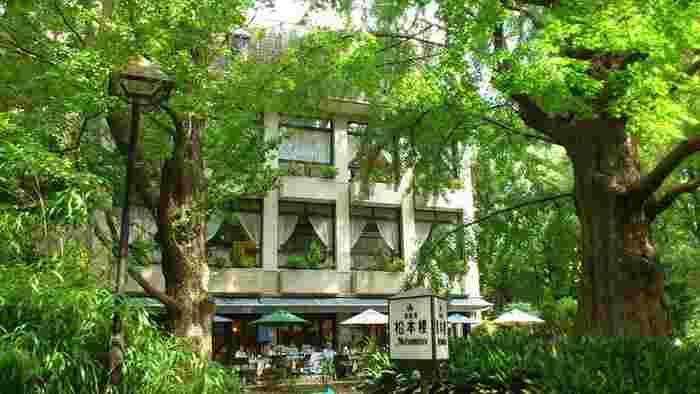 昔ながらの洋食レストランの味がそのまま楽しめる日比谷松本楼。しかもただの洋食レストランと一線を画してる伝統に裏付けされたお味なので、今も根強い人気があるレストランです。 ぜひ開放感あるテラスで、当時に思いを馳せながらのんびり緑と洋食を堪能してください。
