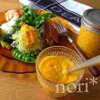 野菜を野菜で頂く!野菜たっぷりのすりおろし野菜ドレッシング。たっぷり作ってもりもり野菜を頂きましょう!