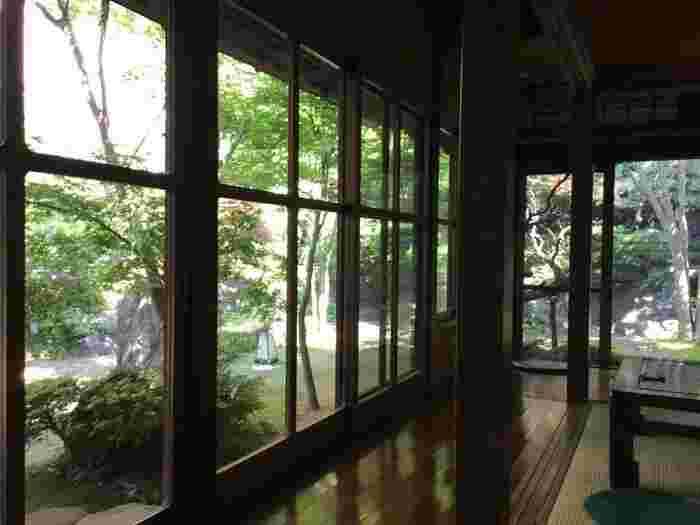 源泉掛け流し天然温泉に東京でも入ることができるのが「さやの湯処」。  戦後まもなく建てられた個人の邸宅が生まれ変わり、温泉と共に趣のある建築と日本庭園を楽しめます。