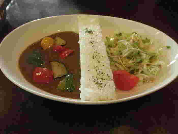 野菜が入ったヘルシーな早明浦ダムカレーもぜひ食してみてくださいね。