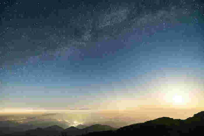 9時~17時までの営業ですが、トイレと駐車場は24時間使用することができるので美ヶ原高原の満点の星空を眺めることも可能です。