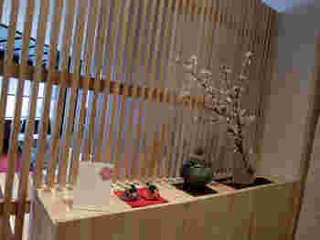 """2015年2月9日に香炉庵2Fに""""香炉庵 茶寮""""がオープンしました。和モダンで落ち着いた雰囲気の店内。"""
