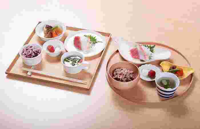 漆器風から、木・竹・陶磁器まで!「お食い初め食器」のおすすめ&豆知識