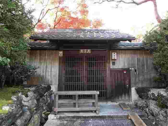 「大寧軒」は、現在南禅寺所有に戻りましたが、かつては茶道家元藪内家の別荘。「何有荘」も「大寧軒」も非公開ですが、「大寧軒」は、不定期で特別公開されることがあります。