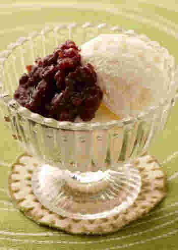 ごはんがアイスクリームに?と誰もが驚くレシピです。お米のつぶつぶ感が残った状態で食感も美味しいヘルシーメニューです。色々なフレーバーを試したくなりますね。