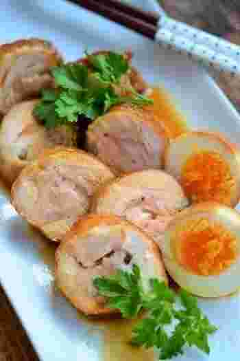 お弁当にもなる応用の広さに加え、調理後のタレも大活躍必至⇒炊き込みごはん、チャーハン、お肉の照り焼き、ゆで卵を漬け込んでの『味玉』etc.