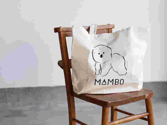 """""""MAMBO""""(L)  張りのあるコットン素材は、使い込むほどにくったりとなじんでいきますよ。"""
