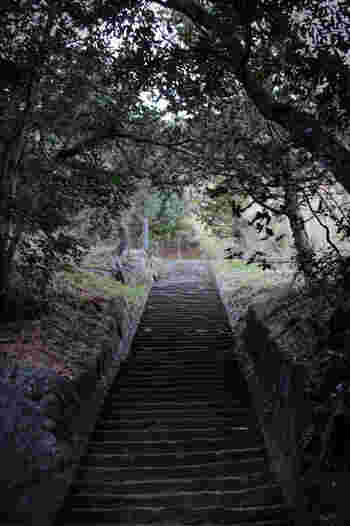 磐長姫尊(いわながひめのみこと)を主祭神として祀る雲見浅間神社は、標高162メートルの烏帽子山に鎮座する神社です。